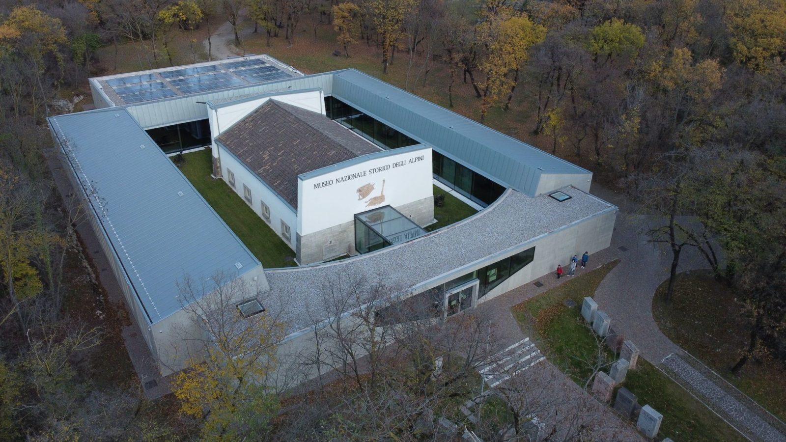 Museo nazionale storico degli Alpini - Realizzazione Covi Costruzioni